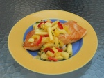 Grilled Salmon Pineapple  Relish
